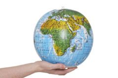 Inflatable Globe of the World Royalty Free Stock Photo