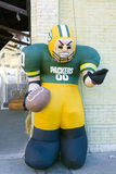 Inflatable Green Bay Packers Mascot Royalty Free Stock Images