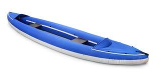 Inflatable kayak Stock Image