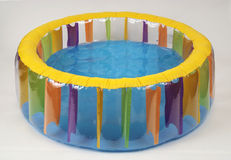 Inflatable paddling pool Stock Image