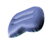 Inflatable pillow isolated. On a white background Stock Photos