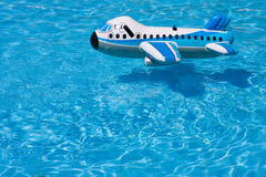 Inflatable plane Royalty Free Stock Images