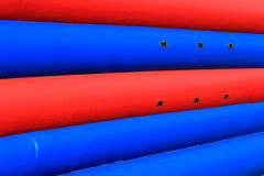 Inflatable Playset Wall Texture Stock Photo