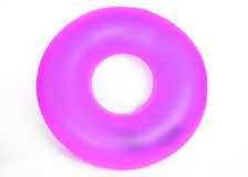 Inflatable Round Pool Tube Royalty Free Stock Photos