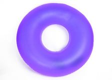 Inflatable Round Pool Tube Royalty Free Stock Images