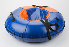 Inflatable sled Stock Image