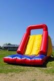 Inflatable slide Stock Photo