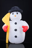 Inflatable Snowman Stock Photography