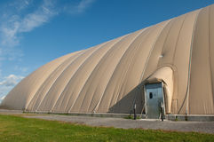 Inflatable Soccer Dome Royalty Free Stock Images
