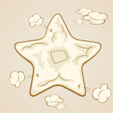 Inflatable star Stock Photography