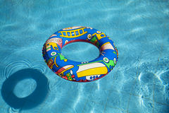 Inflatable Swimming Pool Inner Tube Royalty Free Stock Photos