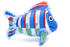 Inflatable toy Royalty Free Stock Photo