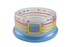 Inflatable toy filled with colorful balls Stock Photography