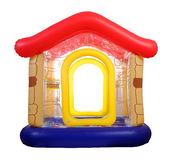 Inflatable toy house Royalty Free Stock Photography