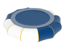 Inflatable trampoline Stock Photography