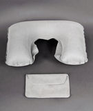 Travel headrest pillow Royalty Free Stock Images