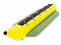 Inflatable water raft Stock Photography