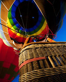 Inflated balloon from below Royalty Free Stock Images