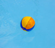 Inflated plastic ball Stock Photography