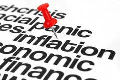 Inflatie stock fotografie