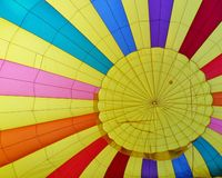Inflating colors Stock Image