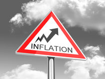 The inflation Royalty Free Stock Photo