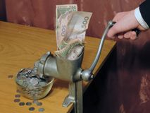 Inflation en Ukraine photographie stock