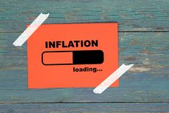 Free Inflation Loading On Paper Stock Photo - 156923930