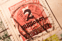 Inflation Stamp Stock Photo