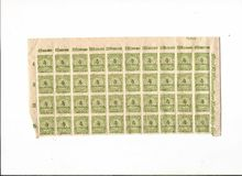 Inflation stamps from Weimar Republic Royalty Free Stock Photos