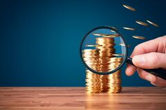 Free Inflation, Tax And Another Financial Concept Stock Photos - 220617653