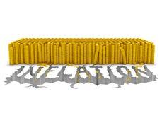 Inflationbegrepp Arkivfoto