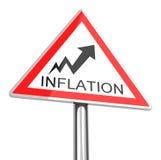 Inflationen Arkivbilder