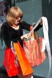 inflationshopping Royaltyfri Foto