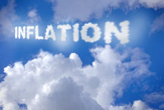 Inflazione Fotografie Stock