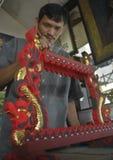 INFLAZIONE FEBBRAIO DELL'INDONESIA Immagini Stock