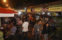INFLAZIONE FEBBRAIO DELL'INDONESIA Fotografie Stock Libere da Diritti