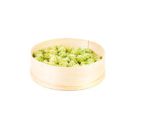 Inflorescence hop in the sieve. Stock Image