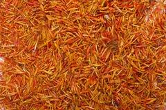 Inflorescence saffron most expensive spice Stock Photos