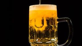 Inflowing Beer stock footage