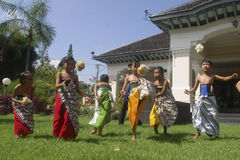 INFLUENCE OF INDONESIAN CULTURE Stock Image