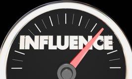 Free Influence Speedometer Power Persuasion Word Royalty Free Stock Photo - 83854705