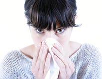 influensa Fotografering för Bildbyråer