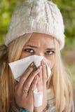 Influensa royaltyfria foton