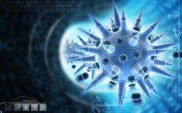 Influensavirus Arkivbild