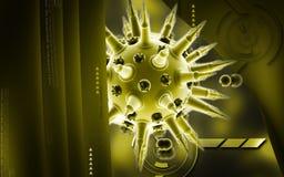 Influensavirus Arkivfoto