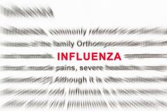 Influenza Stock Image