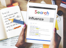 Influenza Cold Fever Flu Illness Concept Royalty Free Stock Photo