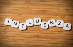 Influenza concept Stock Photography