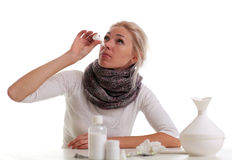 Influenza Royalty Free Stock Photography